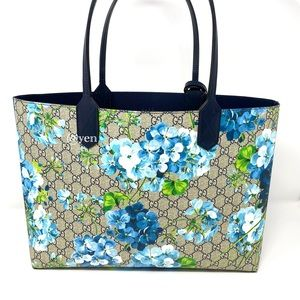Gucci medium blossoms reversible GG blooms tote